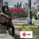"Big City, Small World | 99.1 FM broadcasting ""El Pescador"" by Jose Barros, interpreted by Rosy & La Sana Rabia. Sept 14th, 2019. Host Errol Nazareth."